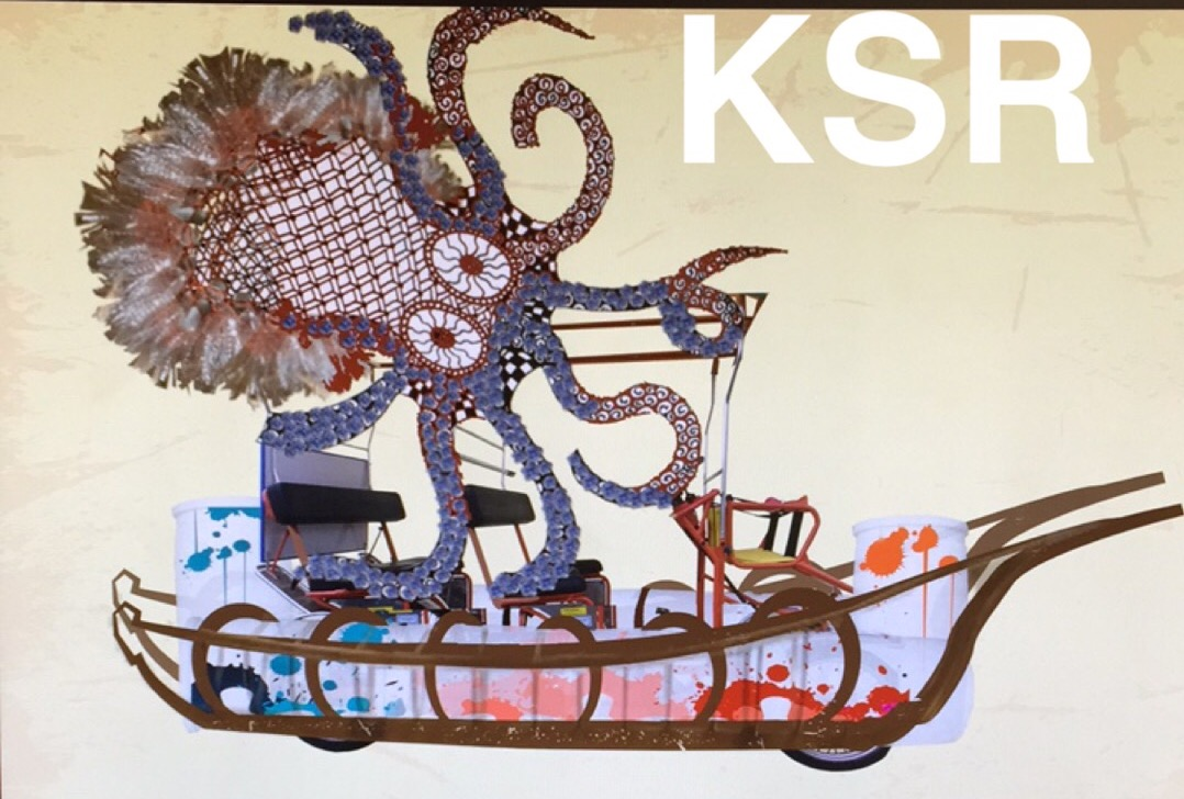 The Kraken Upcycle, winner of the 2015 Kinetic Sculpture Grand Prize, will compete this Saturday May 6th in the Baltimore Kinetic Sculpture Race!